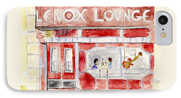 The Lenox Lounge IPhone Case by AFineLyne