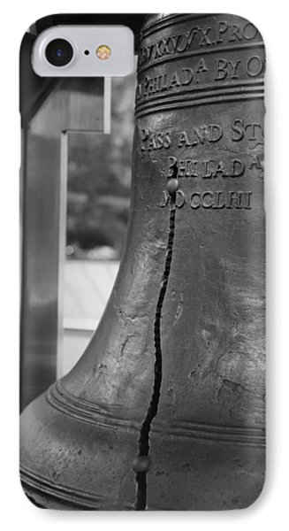 The Liberty Bell In Philadelphia IPhone Case by Mountain Dreams