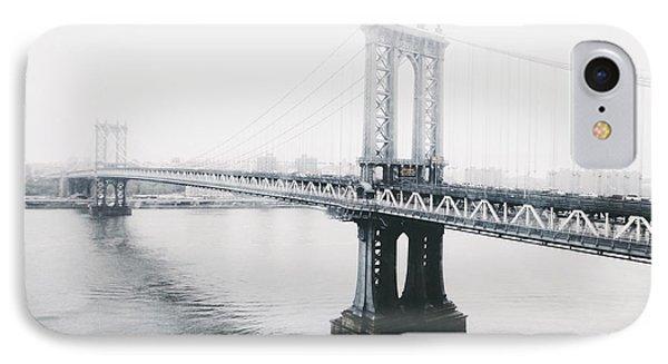 The Manhattan Bridge IPhone Case by Natasha Marco