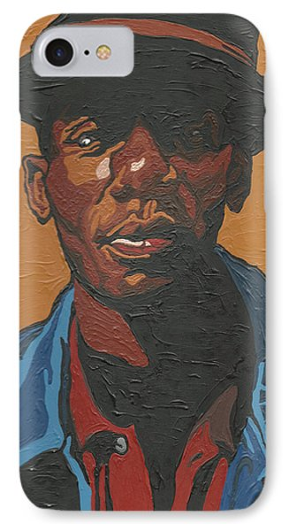 IPhone Case featuring the painting The Most Beautiful Boogie Man by Rachel Natalie Rawlins