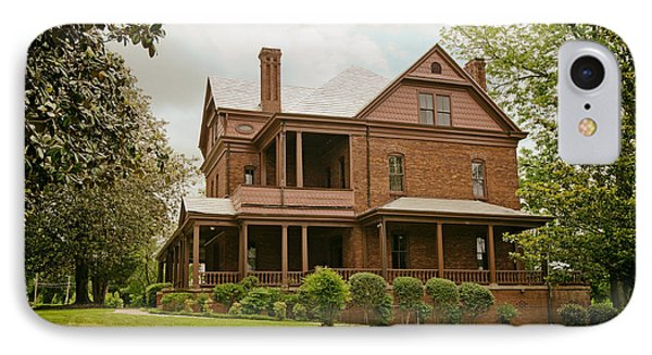 The Oaks - Home Of Booker T Washington IPhone Case by Mountain Dreams