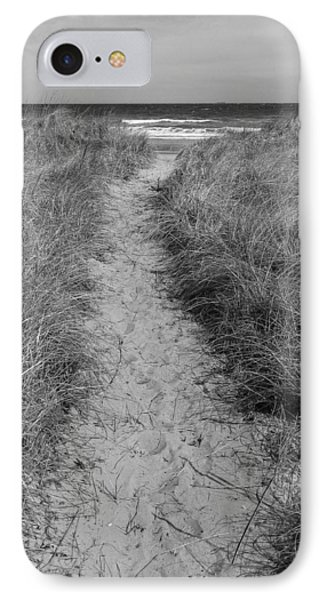 IPhone Case featuring the photograph The Path by Glenn DiPaola
