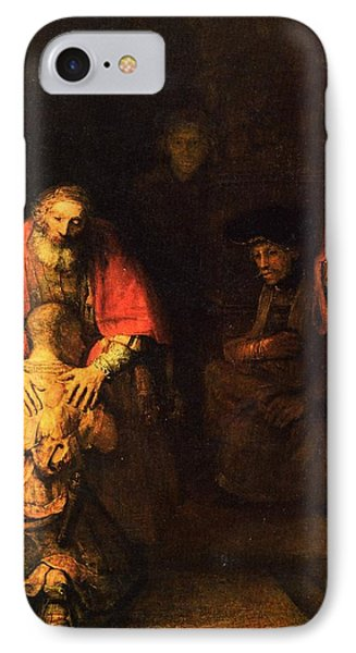 The Prodigal Son IPhone Case by Rembrandt