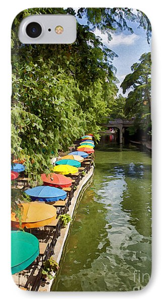 The River Walk IPhone Case by Erika Weber