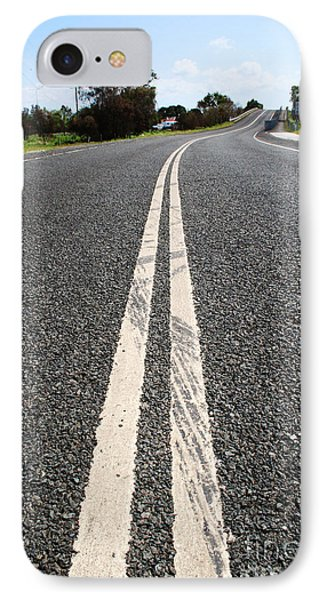 The Road Less Travelled IPhone Case by Jorgo Photography - Wall Art Gallery