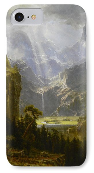 The Rocky Mountains Lander's Peak IPhone Case by Celestial Images