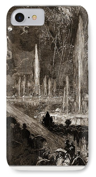 The Shah Of Persia Iran At The Crystal Palace London Uk 1873 IPhone Case by Litz Collection