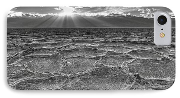 The Sparkle Of Badwater Phone Case by Tony Santo