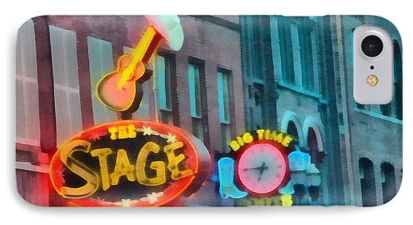 The Stage On Broadway Phone Case by Dan Sproul