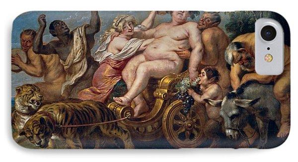 The Triumph Of Bacchus IPhone Case by Cornelis de Vos