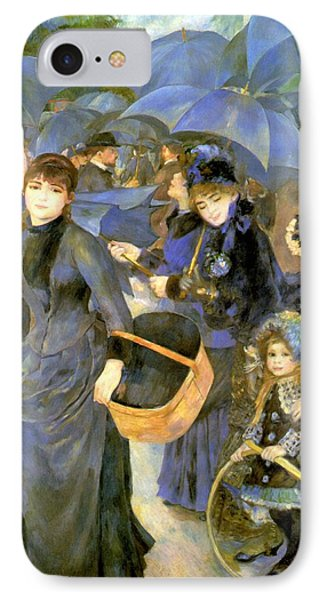 The Umbrellas Phone Case by Pierre Auguste Renoir