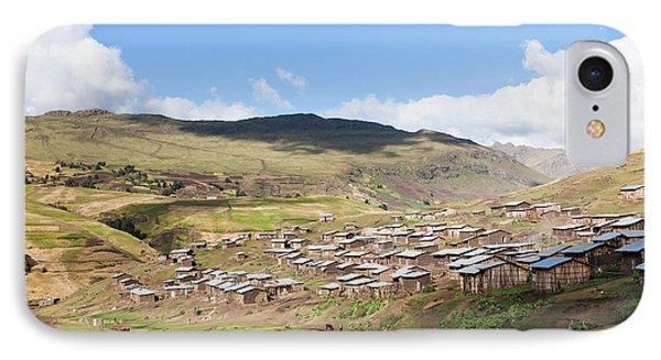 The Village Amiwalka Near Semien IPhone Case