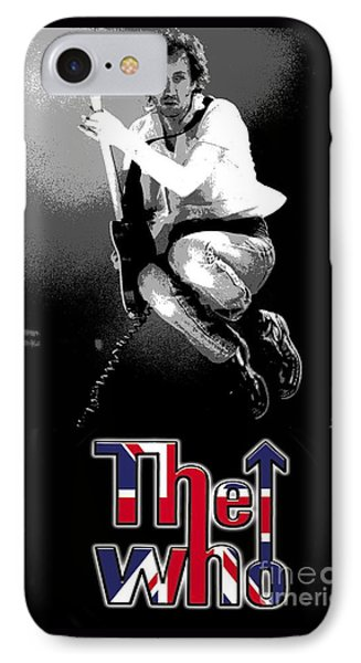 The Who IPhone Case by Doc Braham