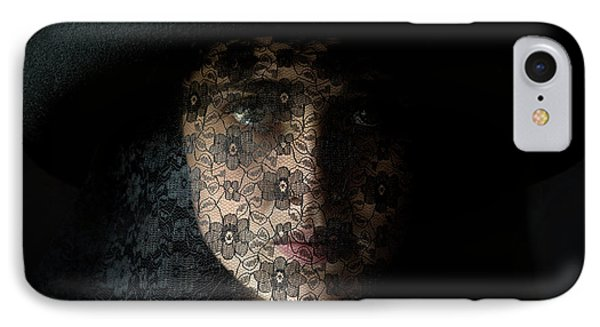 The Widow IPhone Case