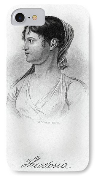 Theodosia Burr (1783-1813) IPhone Case by Granger