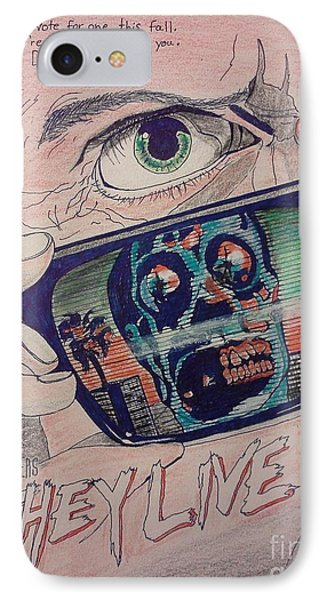 They Live Phone Case by Christopher Soeters