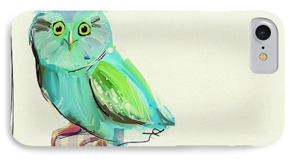 This Little Guy IPhone Case by Cathy Walters