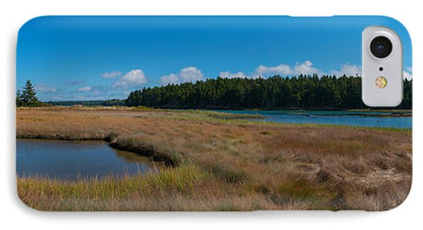 Thompson Island In Maine Panorama IPhone Case