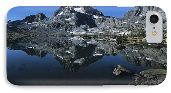 Thousand Islands Lake And Reflection Of Mount Davis IPhone Case