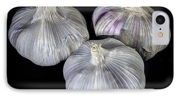 Three Bulbs Of Garlic IPhone Case