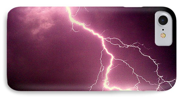 Lightning IPhone Case by Salman Ravish