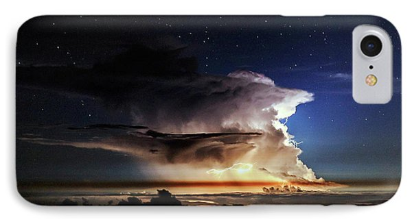 Thunderstorm From Haleakala IPhone Case by Babak Tafreshi