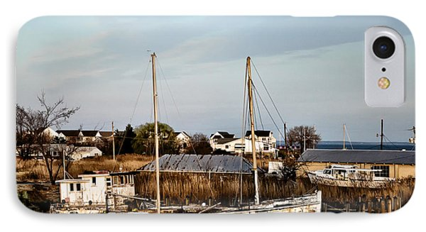 Tilghman Island Maryland IPhone Case by Bill Cannon