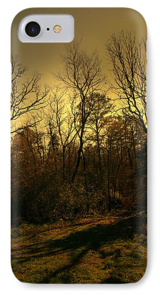 Time Of Long Shadows Phone Case by Nina Fosdick