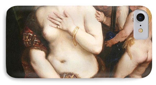 Titian's Venus With A Mirror IPhone Case