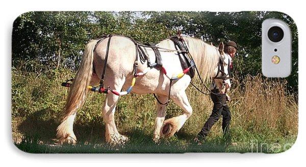Tiverton Barge Horse IPhone Case