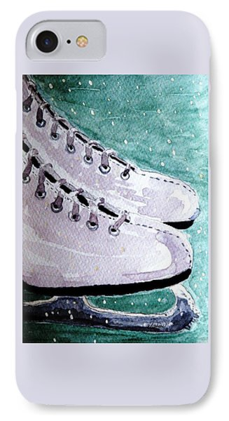 To Skate Phone Case by Angela Davies