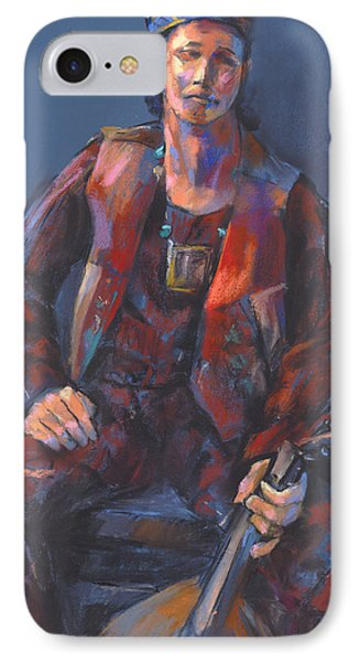 toby Troubador IPhone Case by Joan  Jones