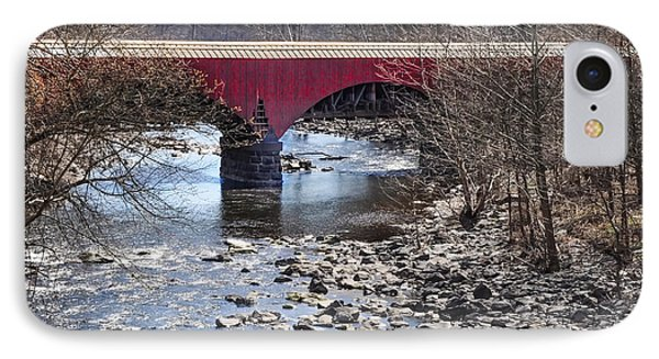 Tohickon Creek Aqueduct Point Pleasant IPhone Case by Bill Cannon