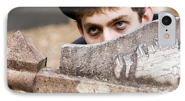 Tomb Stone Peek A Boo IPhone Case