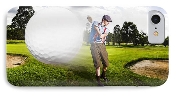 Top Flight Golf IPhone Case by Jorgo Photography - Wall Art Gallery