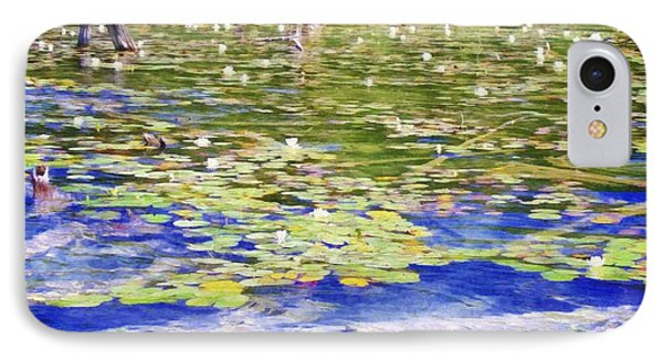 Torch River Water Lilies IPhone Case