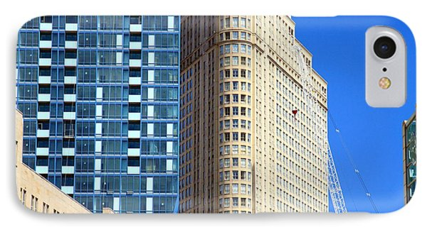 Toronto Architecture Phone Case by Valentino Visentini