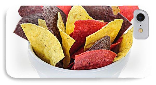 Tortilla Chips IPhone Case by Elena Elisseeva