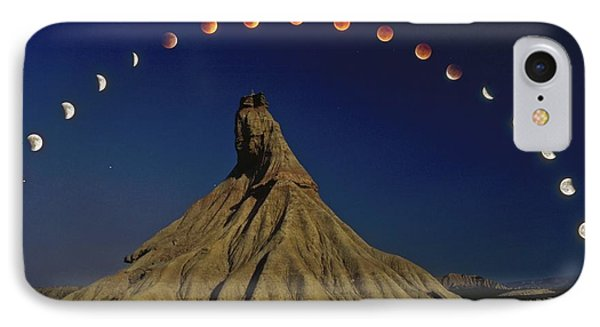 Total Lunar Eclipse IPhone Case by Juan Carlos Casado (starryearth.com)