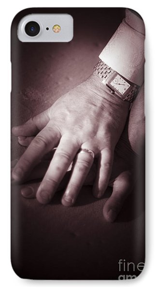 Touching Wedding Moment IPhone Case by Jorgo Photography - Wall Art Gallery