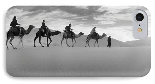 Tourists Riding Camels IPhone Case by Panoramic Images
