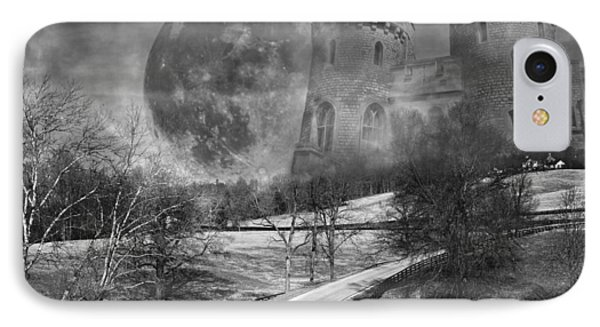 Towers On The Hill IPhone Case by Betsy Knapp