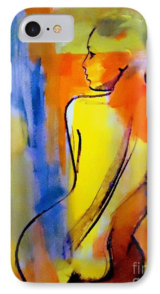 IPhone Case featuring the painting Tranquility by Helena Wierzbicki