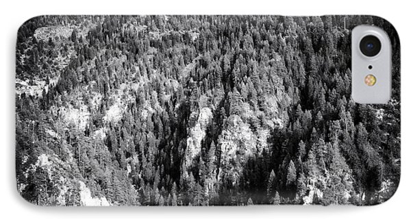 Trees In The Canyon IPhone Case by John Rizzuto