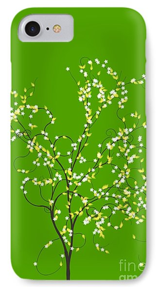 Trees Of Life Phone Case by Charles Dobbs