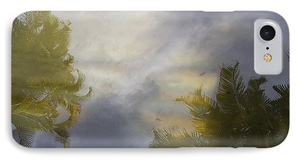 Tropical Reflections Phone Case by Anne Rodkin