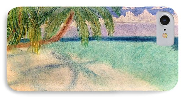 Tropical Shores IPhone Case by Renee Michelle Wenker