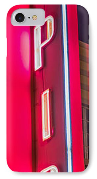 Tropics Neon Sign Art Deco District Sobe Miami - Black And White IPhone Case by Ian Monk