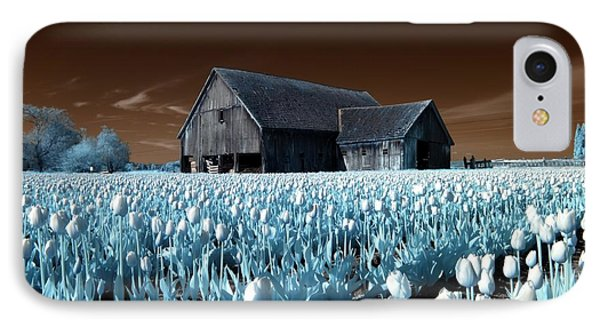 IPhone Case featuring the photograph Tulip Barn by Rebecca Parker