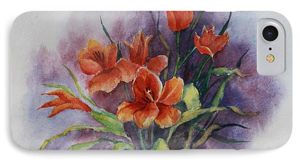 Tulips Phone Case by Janet Felts
